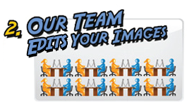 Image Editing Team Process Your Images